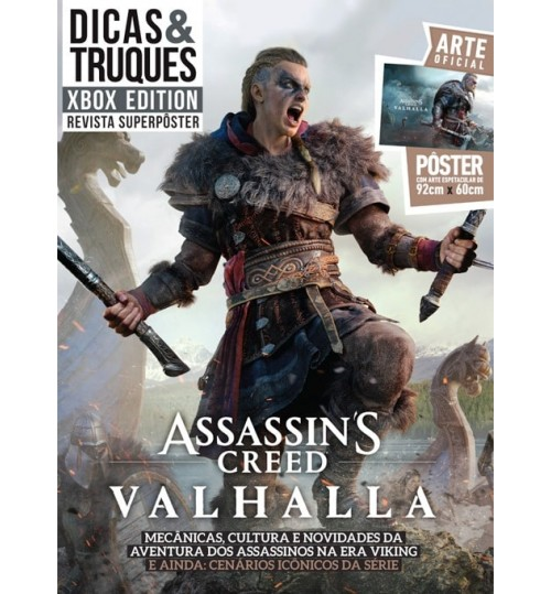 Revista Superpôster Dicas & Truques Xbox - Assassin's Creed Valhalla