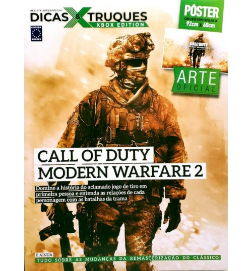 Revista Superpôster Dicas & Truques Xbox - Call Of Duty: Modern Warfare 2