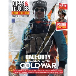 Revista Superpôster Dicas & Truques Xbox Edition - Call Of Duty - Black Ops Cold War
