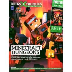 Revista Superpôster Dicas & Truques Xbox Edition - Minecraft Dungeons