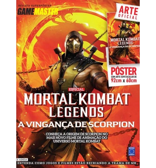 Revista Superpôster - Mortal Kombat Legends