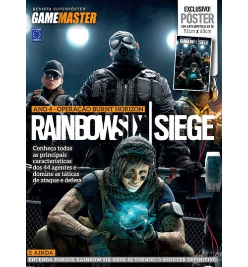 Revista Superpôster - Rainbow Six Siege