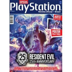 Revista Superpôster PlayStation - Resident Evil 25th Anniversary
