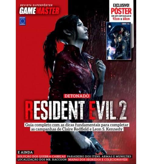 Revista Superpôster - Detonado Resident Evil 2: Volume 2