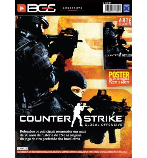 Revista Superpôster BGS - Counter Strike Global Offensive