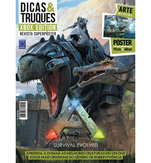 Revista Superpôster D&T Xbox Edition - ARK Survival Evolved