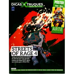 Revista Superpôster Dicas & Truques Xbox Edition - Streets Of Rage 4