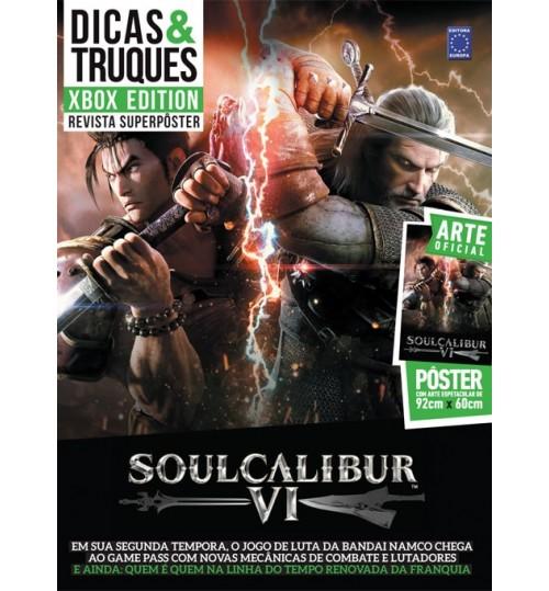 Revista Superpôster Dicas & Truques Xbox - Soulcalibur VI