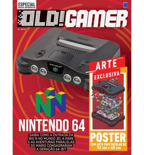 Revista Superpôster OLD!Gamer - Nintendo 64