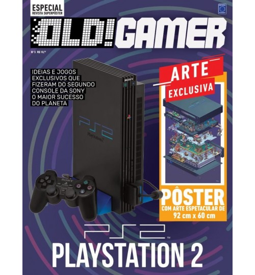 Revista Superpôster OLD!Gamer - Playstation 2