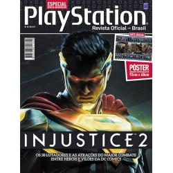 Revista Superpôster PlayStation - Injustice 2