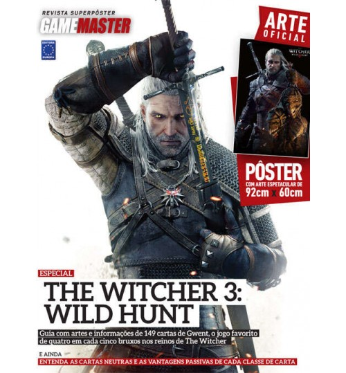 Revista Superpôster - The Witcher 3: Wild Hunt