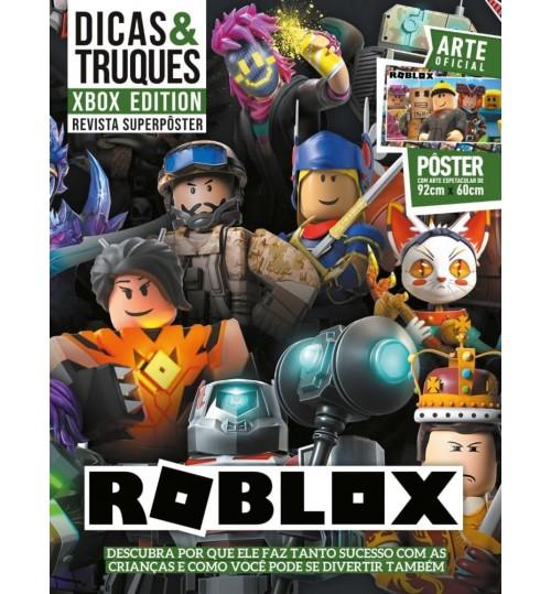Revista Superpôster Dicas & Truques Xbox Edition - Roblox