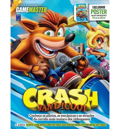 Revista Superpôster - Crash Bandicoot