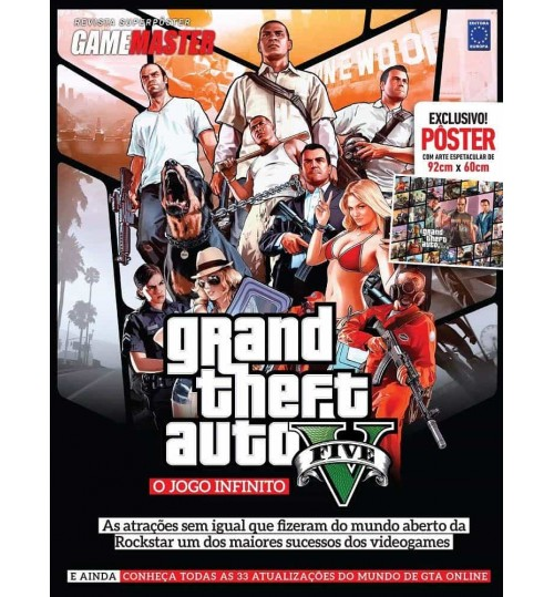Revista Superpôster - Grand Theft Auto O Jogo Infinito