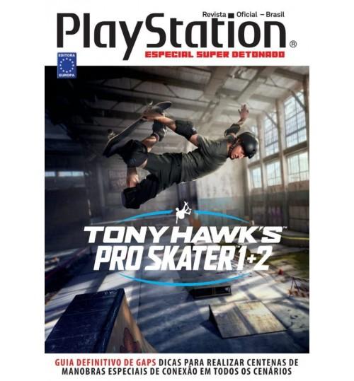 Livro Especial Super Detonado PlayStation - Tony Hawks Pro Skater 1+2
