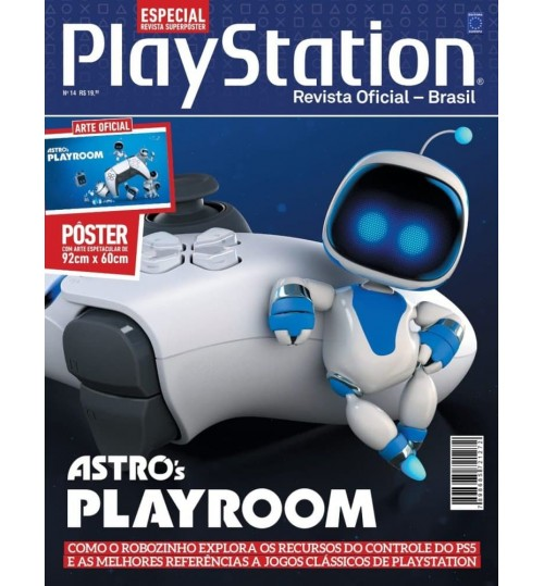 Revista Superpôster PlayStation - Astro's Playroom
