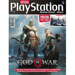 Revista Superpôster PlayStation - God Of War Volume 2