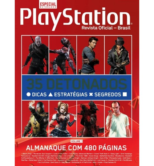 Livro Almanaque Playstation de Detonados - Volume 1