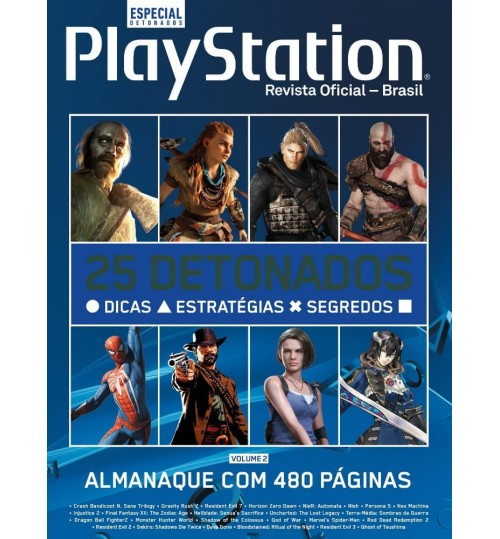 Livro Almanaque Playstation de Detonados - Volume 2