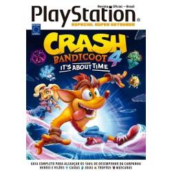 Livro Especial Super Detonado PlayStation - Crash Bandicoot 4
