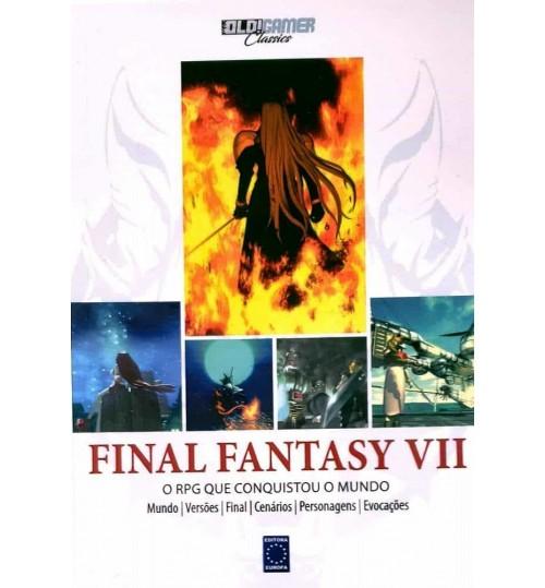 Livro Coleção OLD!Gamer Classics: Final Fantasy VII - A explosão atômica dos RPGs