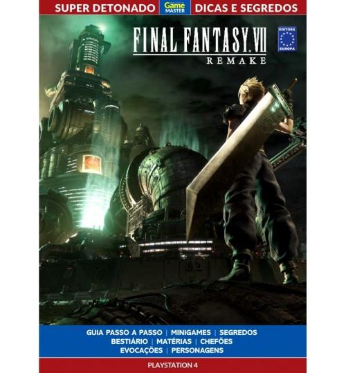 Livro Super Detonado Dicas e Segredos - Final Fantasy VII Remake