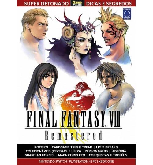 Livro Super Detonado Dicas e Segredos - Final Fantasy VIII Remastered