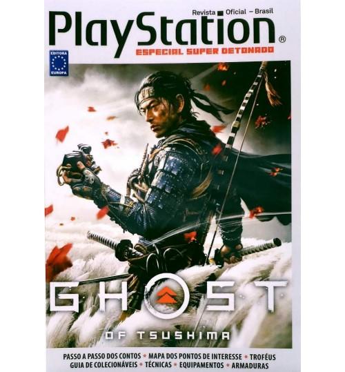 Livro Super Detonado Dicas e Segredos - Ghost of Tsushima