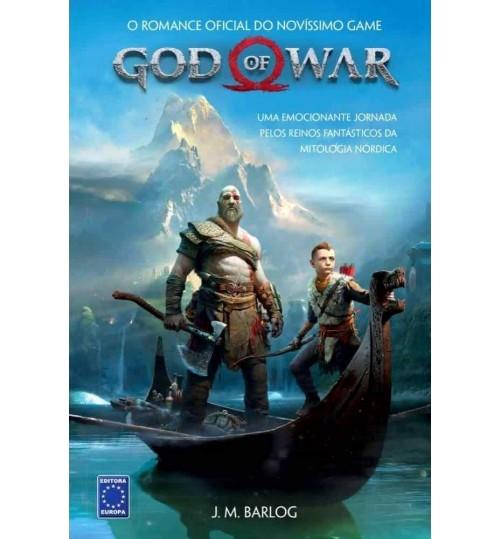 Livro God of War - Uma Emocionante Jornada pelos Reinos Fantásticos da Mitologia Nórdica