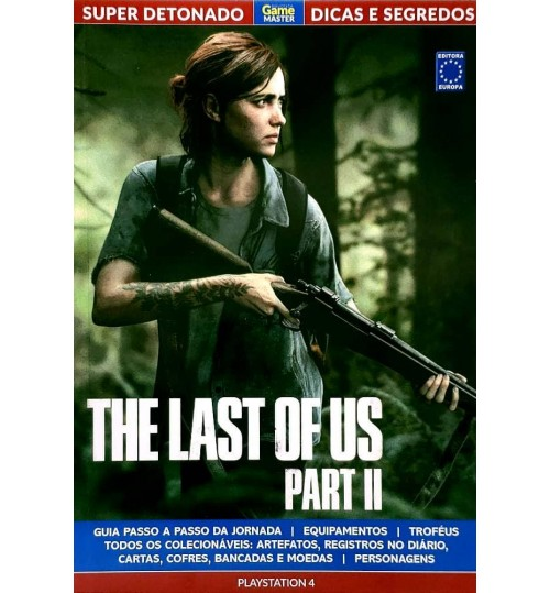 Livro Super Detonado Dicas e Segredos - The Last Of Us Part II