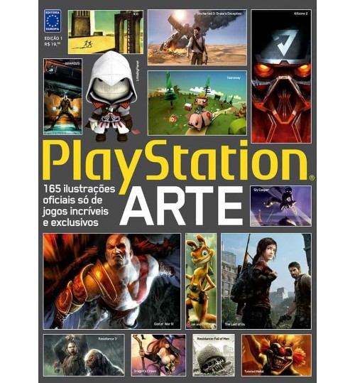 Revista Playstation Arte Volume 1