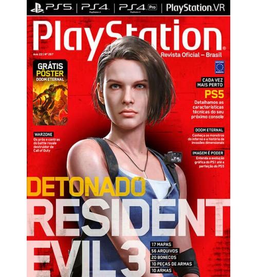 Revista Playstation Detonado Resident Evil N° 267