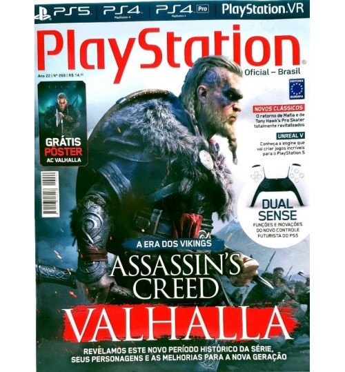 Revista Playstation Assassin's Creed Valhalla N° 269