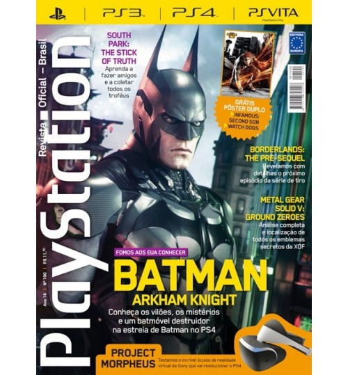 Revista Playstation - Batman Arkham Knight N° 190