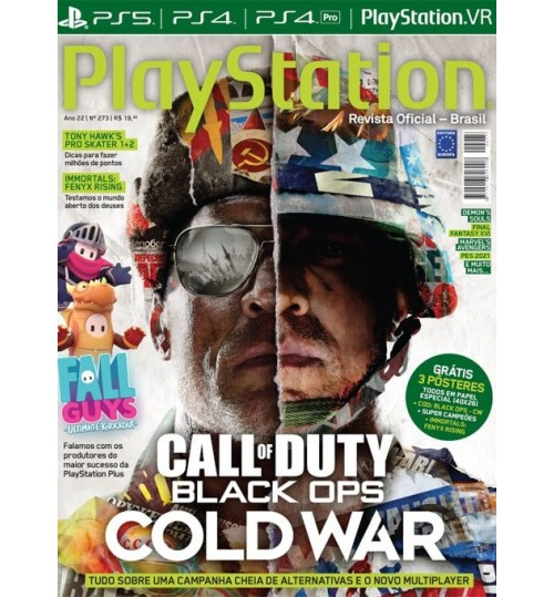 Revista Playstation Call Of Duty Black Ops: Cold War N° 273