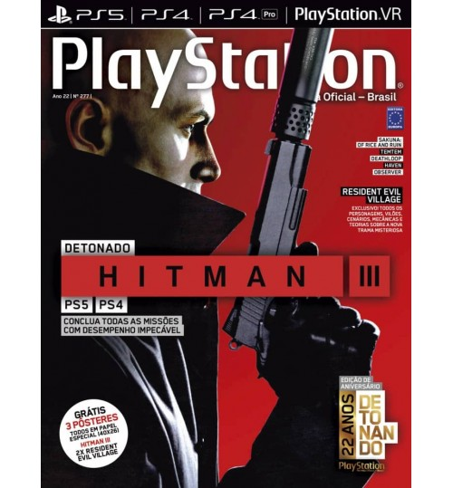 Revista Playstation - Detonado Hitman III N° 277