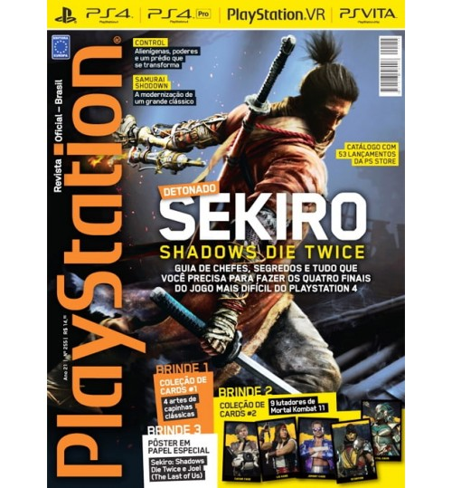 Revista Playstation - Detonado! Sekiro: Shadows Die Twice N° 255