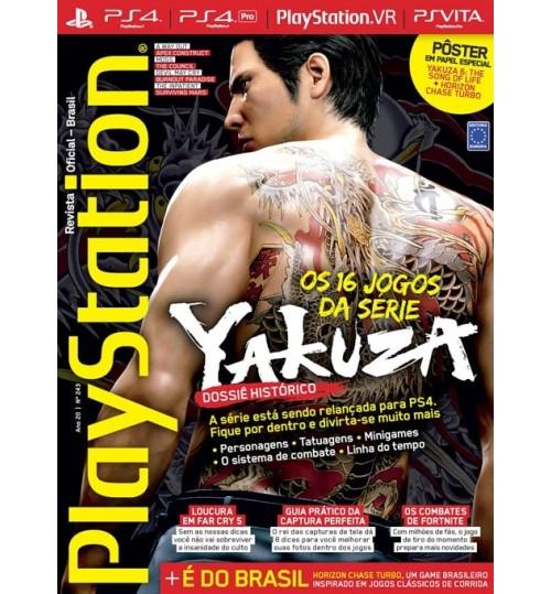 Revista Playstation - Dossiê Histórico Os 16 jogos da série Yakuza N° 243
