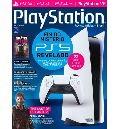Revista Playstation - Fim do mistério, PS5 Revelado! N° 270
