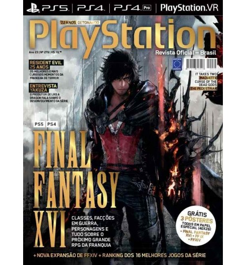 Revista Playstation - Final Fantasy XVI N° 279