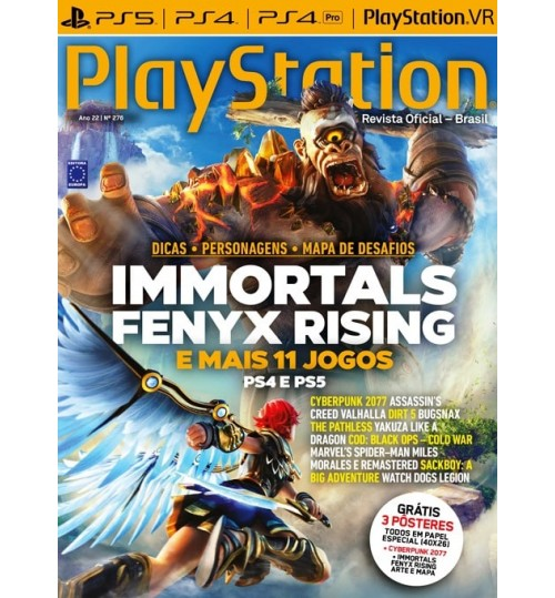 Revista Playstation Immortals Fenyx Rising N° 276