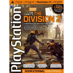 Revista Playstation - Jogamos Tom Clancy's The Division 2 N° 252