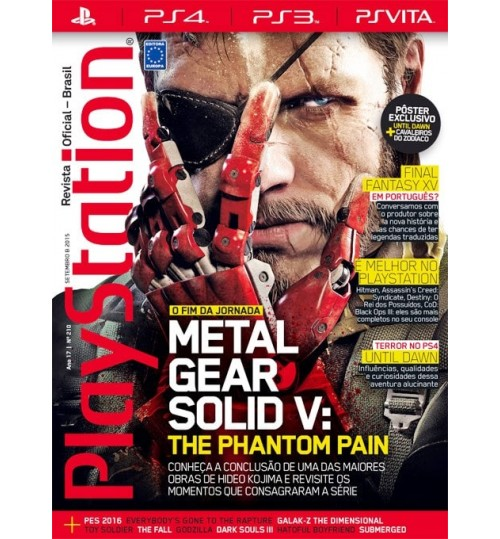 Revista Playstation - Metal Gear Solid V The Phantom Pain N° 210
