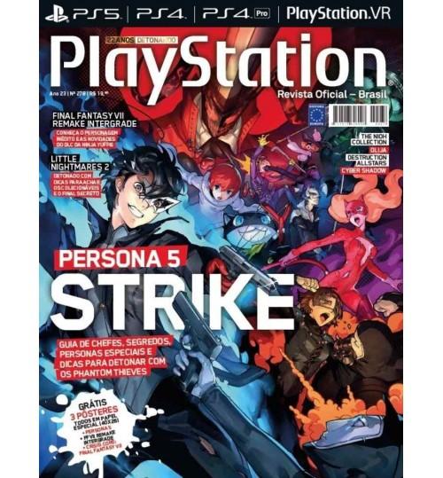 Revista Playstation - Persona 5 Strikers N° 278