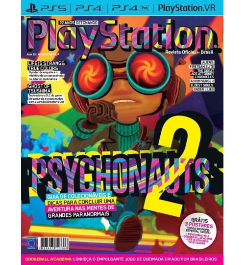 Revista Playstation - Psychonauts 2 N° 284