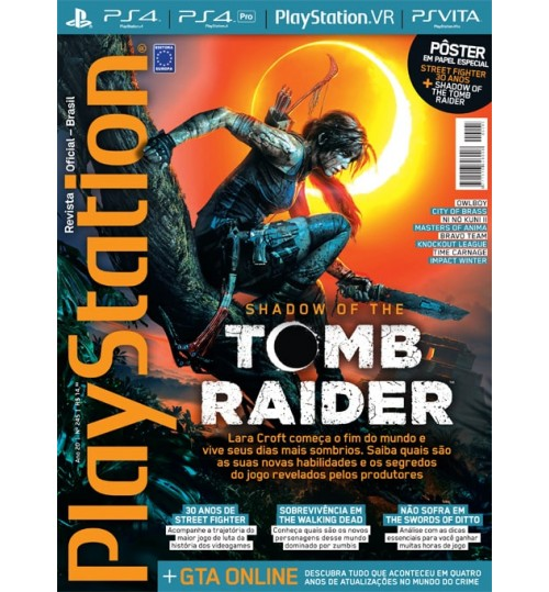Revista Playstation - Shadow of The Tomb Raider N° 245