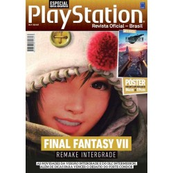 Revista Superpôster Bookzine PlayStation - Final Fantasy VII Remake Intergrade