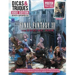 Revista Superpôster Dicas & Truques Xbox Edition - Final Fantasy XII: The Zodiac Age