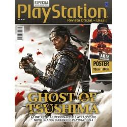Revista Superpôster PlayStation - Ghost of Tsushima